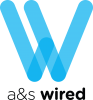 A&S Wired logo